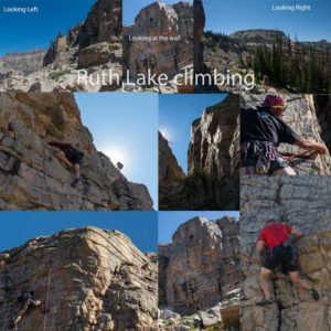 Ruth Lake rock Climbing